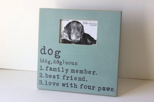 Dog Definition Frame