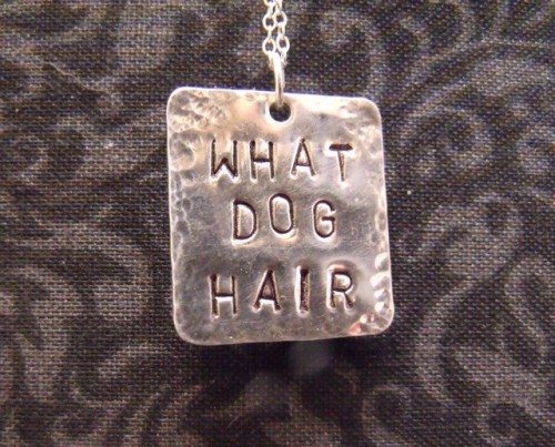 What Dog Hair Necklace