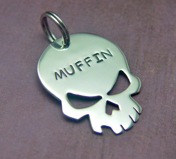 The Skull Dog Tag