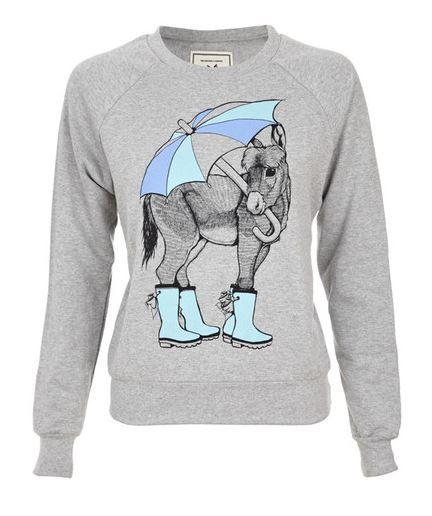 Brat & Suzie Donkey Sweater