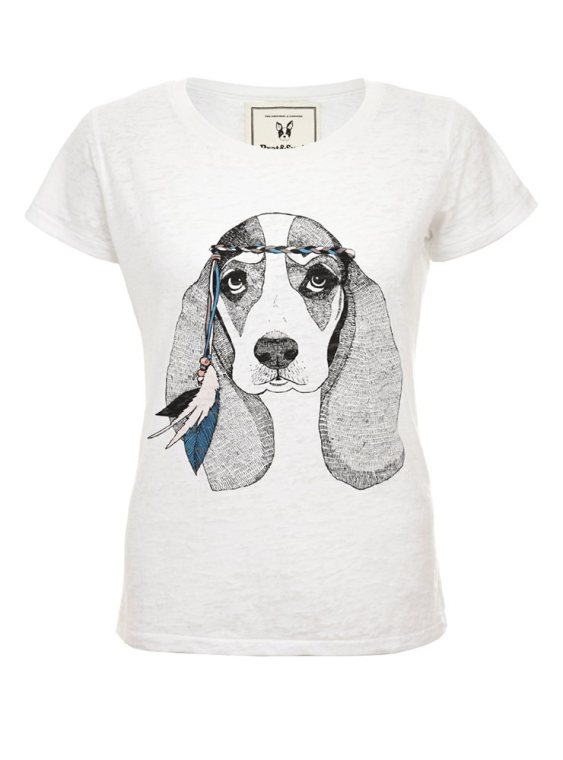 Brat & Suzie Hippy Dog Tee
