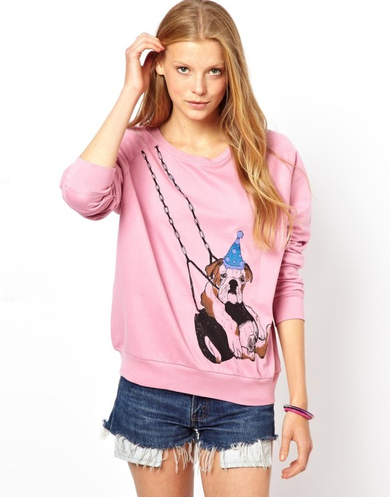 Brat & Suzie Swing Dog Sweat Top