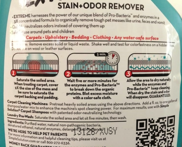 Stain+Odor Instructions 1