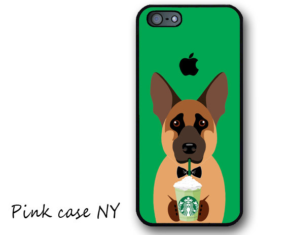 Pink Case NY - German Shepherd