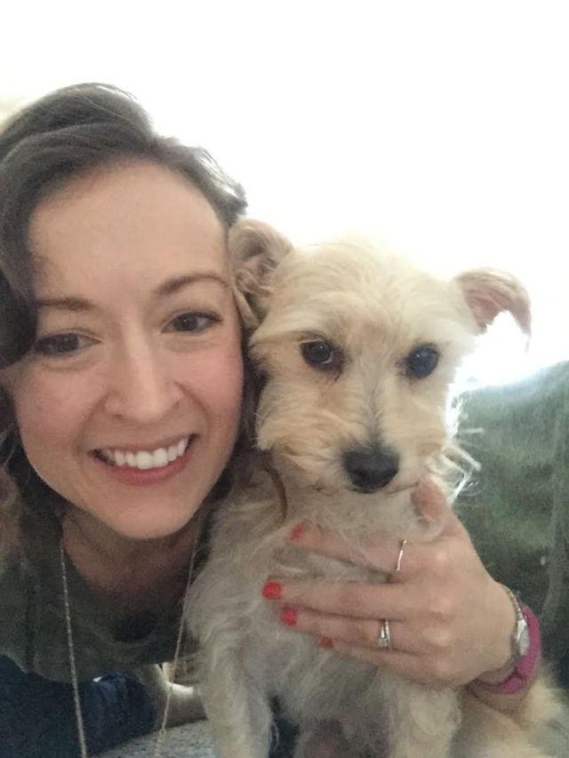 Dog Mom Project - Morgan & Henley Selfie