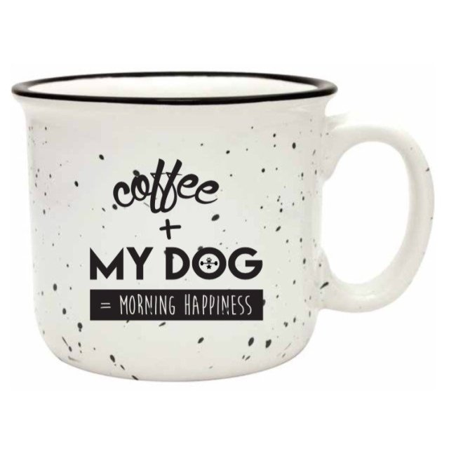 Wags & Weights Mug White